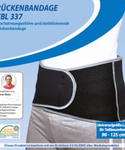 Dittmann Rückenbandage ZBL 337