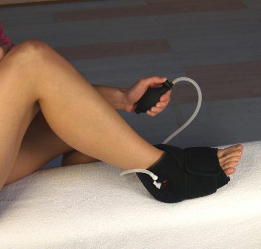 Dittmann Kühl- und Druckluft-Bandage für den Fuß (DBF 261)