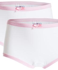 UnderWunder für Mädchen Slip weiß