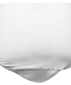 UnderWunder für Damen Midi weiß mit Spitze